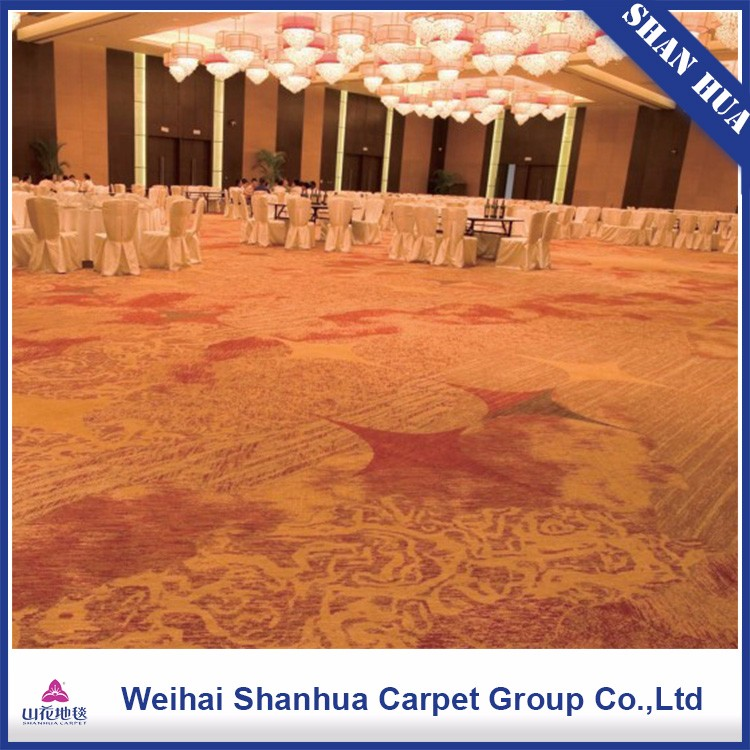 Factory custom high quality 5 Star hotel flooring commercial hotel carpet
