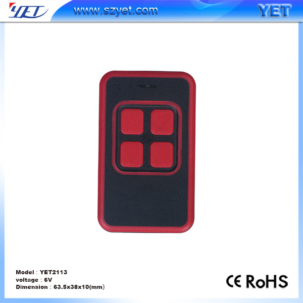 315mhz EV1527 learning code gate remote control YET2113