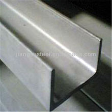 stainless steel c channel sizes