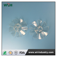 Air conditioner Plastic fan blade for cooling system