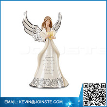 Angel figurines wholesale,angel figurines with light,led angel
