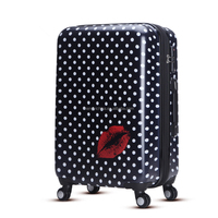 WAO personalized cabin luggage with AL draw bar