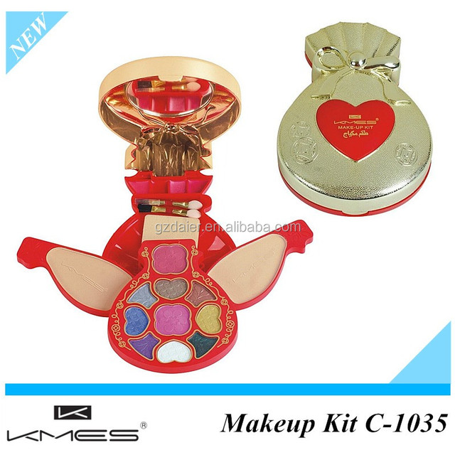 Professional makeup kit beauty fashionable cosmetics cheap makeup kit 1035