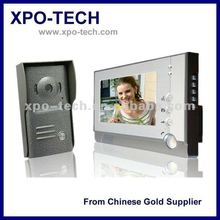 7 Inch Color Video Door Phone with Memory