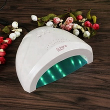 Professional white sun light 48w gel uv led nail lamp