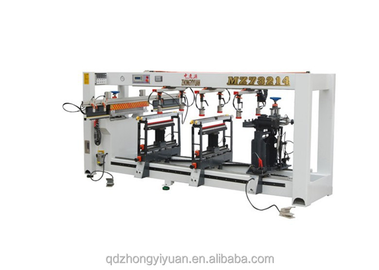 MZ73214 Qingdao four-ranged carpenter woodworking drilling machine