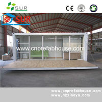 China Single Layer sandwich panel 20ft living container house