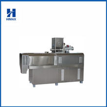 Puffs snacks food making machinery for cheese corn chips production line