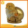 Imitation gold chicken wholesale craft supplies chinese zodiac cheap animal figurines