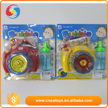 CB1803576 Eco-friendly Camera bubble toys Cartoon bubble toy