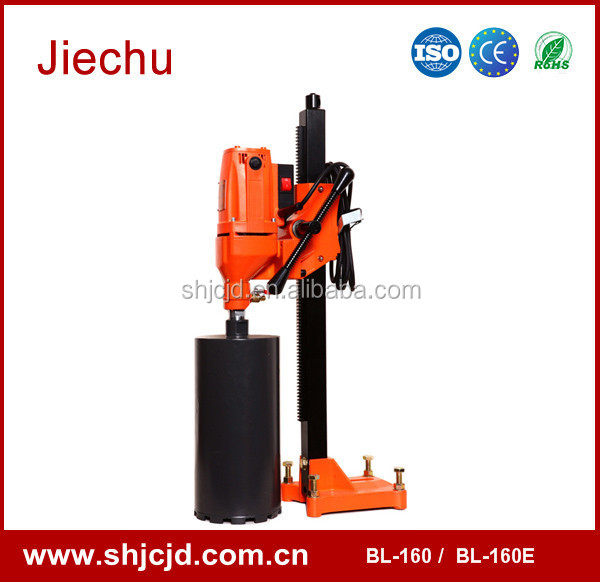 160mm tapping machine hand drill specifications