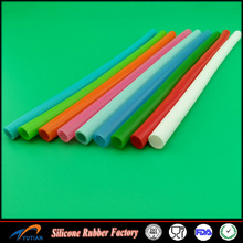 High quality Food Grade silicone colorful rubber tube / tubing