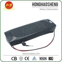 10S5P 18650 li ion battery 36V 17.5Ah for electric bicycle with black case