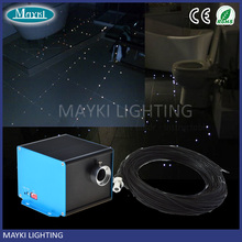 Fiber Optic Light For Steam Shower Room , bathroom floor wall star using