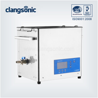 300w desktop ultrasonic cleaning machine cleaner for kitchen utensil washing
