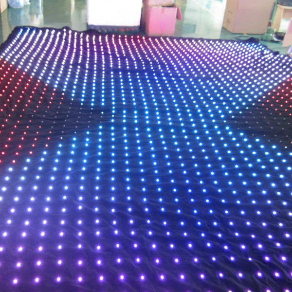 DMX LED Star Curtain For Stage