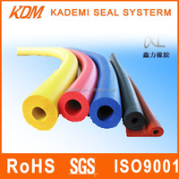 High quality Silicone rubber flexible colorful foam tubes