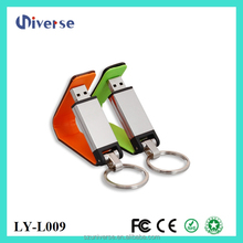 Customize Logo Leather Usb 2.0 Driver U Disk Factory Price with CE and ROHS
