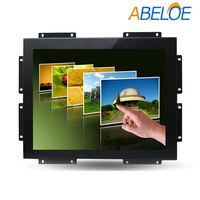 Industrial Control 17 Inch Metal Shell Open Frame Touch Screen Monitor