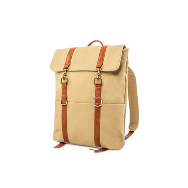 Khaki Waxed Canvas Backpack Manufacturer
