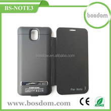 BS-NOTE3 3800mah external battery charger case for samsung galaxy note 3 backup battery