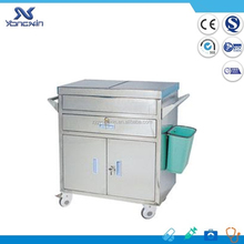 CE Certified Movable Hospital Logistics Medicine Cart / Trolley