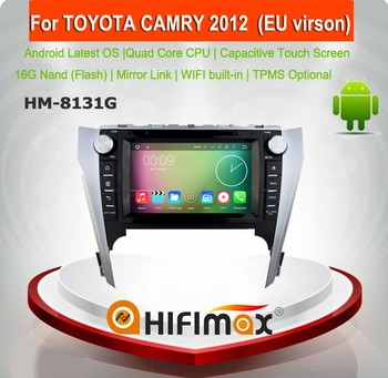 HIFIMAX Android 5.1.1 car radio dvd gps navigation system for TOYOTA CAMRY 2012 (EU virson) support JBL system