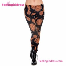 Fitness Lady Slim Cool Printed Indian Hot Sex Tight Photos Legging