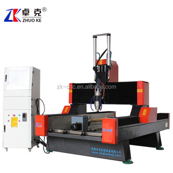 9015 4 axis stone metal cnc engraving machine 300mm Z-axis