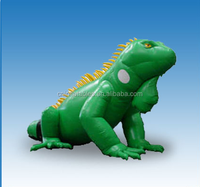 Inflatable Iguana,2015 hot sale giant inflatable replica for advertising from audiinflatables