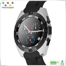 NB1 2016 Waterproof 1.2 HD IPS Touch screen avatar smart watch mobile phone
