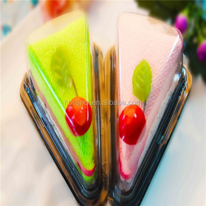 100% Cotton Mini Promotional Gift Towel/cake Towel