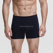 Crazy Cool Bamboo Stretchable Seamless Mens Boxer Briefs Underwear
