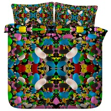 Yummy Jellybean 3d Bedding Set Colorful Kaleidoscope