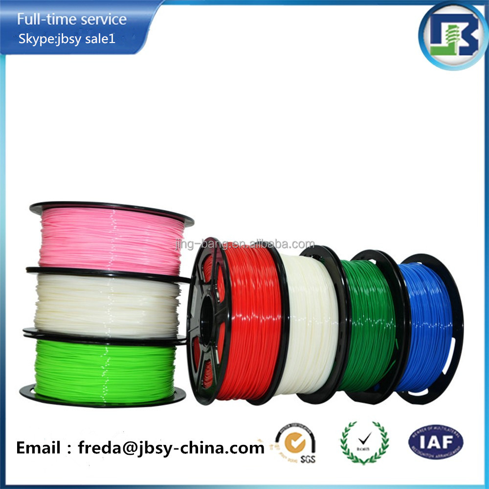 High quality ABS, PLA 3D Printer Filament for 3D printing 1.75mm diameter