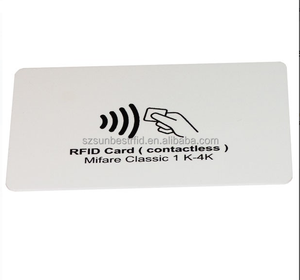 T5577 read&write Programmable plastic RFID Hotel Key Card for Access Control
