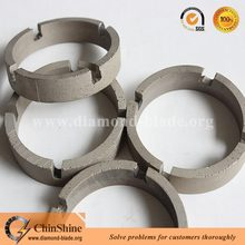 Diamond crown core drill bit segment for drilling reinforced concrete