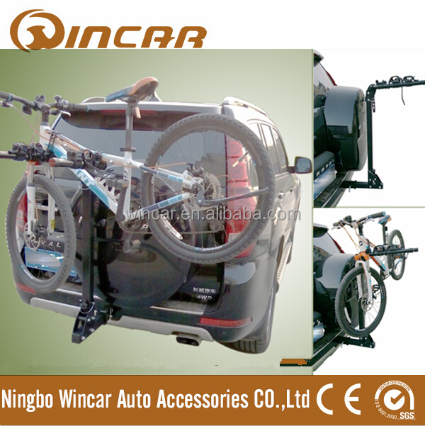 Hitch Mount Bike Rack Rear bike carrier 4 bike trunk rack