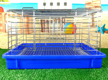 Well-suited stainless steel small animals dog cage