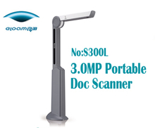 Wireless Portable magnifier with desklamp shape for low vision and can be used as mini porable scanner as well as printer
