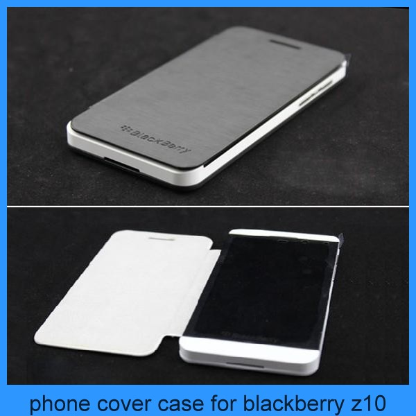 Newest Case For Blackberry Z10 Ultra-thin Flip Leather Cover