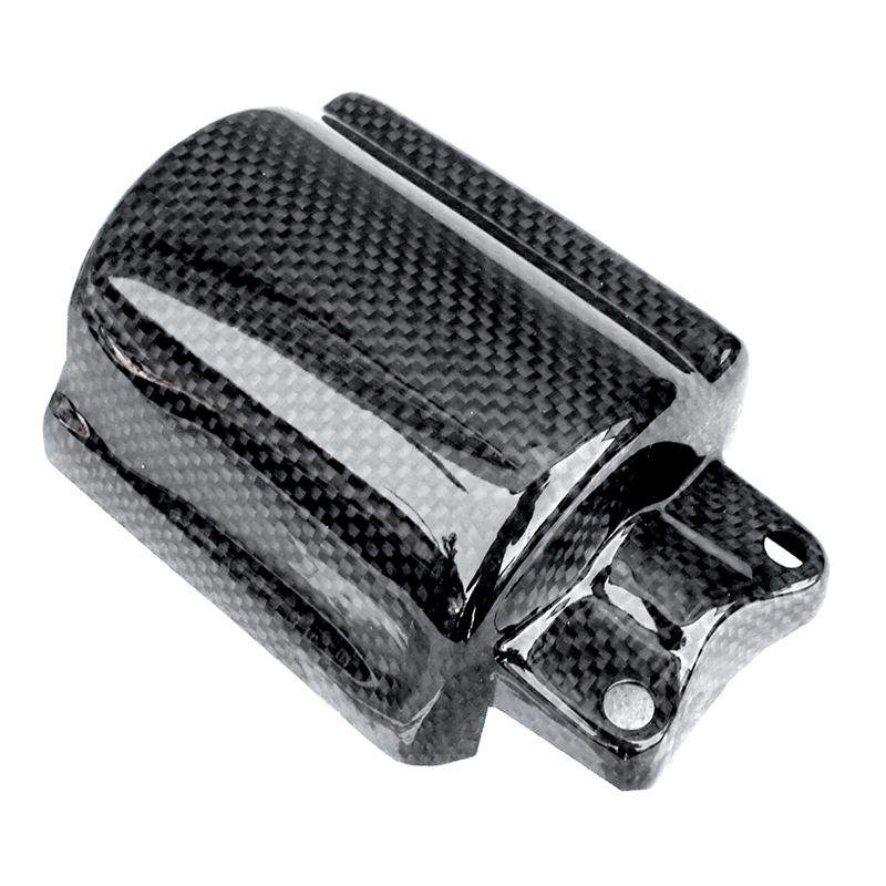 [MOS] Carbon Fiber Starter Cover for Yamaha Zuma 125cc (2014-2017) / BWS X / YW125 / Bee Wee