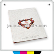 China widely used of custom design products booklets printing company