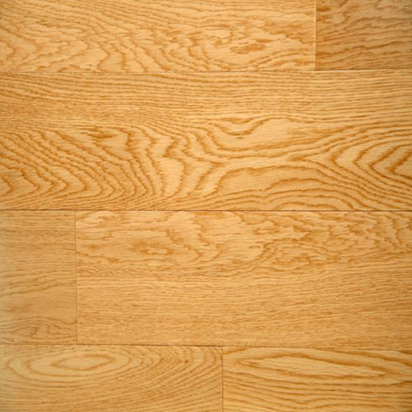 Natural Color oak Multilayer Engineered Wood Flooring With Smooth Surface