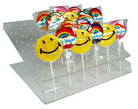 Eco- friendly acrylic lollipop display stand