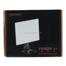 YONGNUO YN300 Air + Ultra Thin On Camera Led Video Light Pad Panel for Canon DSLR & Camcorder Send Net Bag