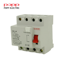 Hot selling elcb rccb price current ratings Residual Current Circuit Breaker