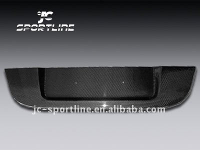 E60 M5 carbon fiber license plate for bmw