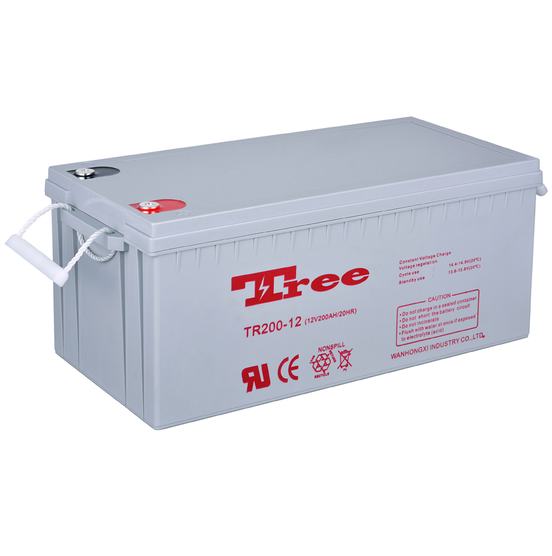 Good price 12V bateria de gel 200 ah Manufacturer Deep cycle solar battery 12v 200ah