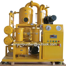 Vacuum transformer oil processing unit,electric condenser / transformer / switch oil purifier
